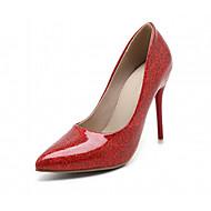 Homme-Mariage Habillé Soirée & Evénement-Rose Rouge Or Argent-Talon Aiguille-Confort-Chaussures à Talons-Similicuir