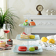 cheap Kitchen Organization-1 PCS 3 Layer Plastic Cake And Fruit Rack Kitchen Storage For Party