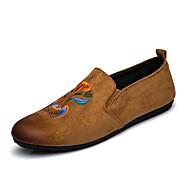 ieftine -Bărbați Pantofi Sintetic Primăvară Toamnă Confortabili Mocasini & Balerini Plimbare Combinată pentru Casual Birou și carieră Party & Seară