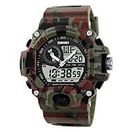 Miesten Urheilukello Armeijakello Rannekello Digitaalinen Watch Quartz Digitaalinen Japanilainen kvartsi LED LCD Kalenteri Vedenkestävä