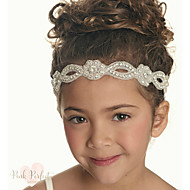 cheap Kids' Accessories-Girls' Hair Accessories, All Seasons Cotton Lace Headbands - White