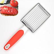 1 Pças. Cortador e Fatiador For Vegetais para ovos Para utensílios de cozinha Plástico Aço InoxidávelAlta qualidade Gadget de Cozinha
