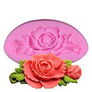 billige Bakeredskap-Bakeform Blomst spirende For Godteri Til Småkake Kake Brød Silikon GDS Høsttakkefest Valentinsdag Bursdag Bryllup Høy kvalitet