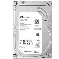 Seagate 2TB Desktop Hard Disk Drive 7200rpm SATA 3.0 (6 Gb / s) 64MB Cache 3,5 tommer-ST2000DM001