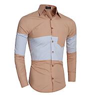 Majica Muškarci Color block Pamuk