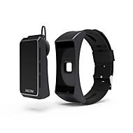 billige Smartklokker-Smart armbånd Pulsmåler Vannavvisende Kalorier brent Pedometere Trenings logg Sundhetspleie Vekkerklokke Lang Standby Anvendelig Lyd