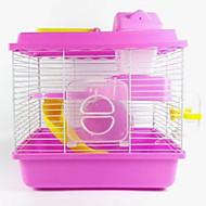 ieftine Küçük Hayvan Giyim ve Aksesuarları-Rozătoare Hamster Plastic Cuști Cafea Albastru Roz