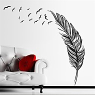 cheap Clearance-Still Life Wall Stickers Plane Wall Stickers Decorative Wall Stickers, Vinyl Home Decoration Wall Decal Wall Glass/Bathroom