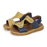 baratos Sapatos de Menino-Para Meninos Sapatos Couro Verão Conforto Sandálias Colchete Combinação para Casual Festas & Noite Laranja Azul Marinho Azul Claro
