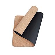 billige Matter-TPE Yogamatte Miljøvennlig Lugtfri 5 mm Svart Other