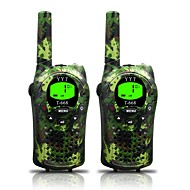 billige Walkie-talkies-hær for barn walkie talkies 22 kanaler og (opp til 5km i åpne områder) armygreen walkie talkie for barn (1 par) t668