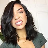 Γυναικείο Περούκες από Ανθρώπινη Τρίχα Φυσικά μαλλιά Πλήρης Δαντέλα Πλήρης Δαντέλα Χωρίς Κόλλα 130% Πυκνότητα Κυματομορφή Σώματος Περούκα