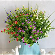 billige Kunstige blomster-1 Gren Plastikk Ledning Andre Andre Bordblomst Kunstige blomster 7*7*29