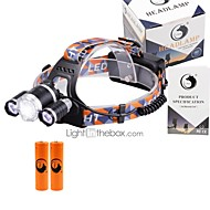 U'King Lanternas de Cabeça LED 6000 Lumens 3 4.0 Modo Cree XM-L T6 Sim Foco Ajustável Tamanho Compacto Fácil de Transportar para Campismo