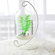 baratos -Mini Aquários Ornamentos Vidro Metal