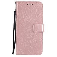 Θήκη Za Samsung Galaxy Utor za kartice Novčanik sa stalkom Zaokret Uzorak Reljefni uzorak Korice Mandala Tvrdo PU koža za Note 5 Note 4