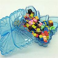 Korjaus Tarvikkeet Kynä Pyyhkimet ja täyttöpakkaukset Kynä,Kumi tynnyri Random värit Ink Colors For Koulutarvikkeet Toimistotarvikkeet