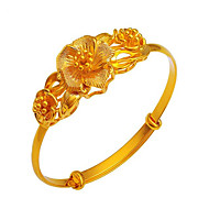 pulseira banhada a ouro festa de casamento elegante estilo feminino clássico