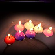 12 ks bezdymové romantické plovoucí svíčky sváteční dekorace