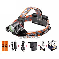 U'King Headlamps Headlight LED 6000 lm 4 Mode Cree XM-L T6 Mini Easy Carrying for Camping/Hiking/Caving Everyday Use Cycling/Bike Hunting