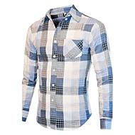 Majica Muškarci Dnevno Pamuk Jednobojni Color block Print