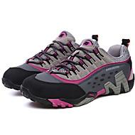 運動靴は夏秋冬快適牛革屋外オフィス春&キャリアアスレチックカジュアルワーク&安全青紫色のハイキング
