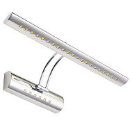 LED Integrated Modern/Contemporary Electroplated Feature for LED Bathroom Lighting Wall Light