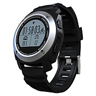 tanie Inteligentne zegarki-Inteligentny zegarek GPS Pulsometr Krokomierze Kamera/aparat Śledzenie odległości Informacje Obsługa wiadomości Długi czas czuwania