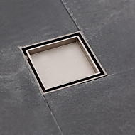 Drain / Nickel Brushed Brass /Contemporary