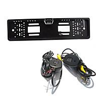 parkovací asistent Systém bezdrátového auto zadní parkovací kamera auto 4LED ccd 1080p HD zpětné zvrátit univerzální záložní fotoaparát