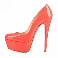 baratos Sapatos Femininos-Mulheres Sapatos Courino Primavera / Verão / Outono Salto Agulha / Plataforma Azul Claro / Nú / Coral / Festas & Noite / Social / Festas & Noite