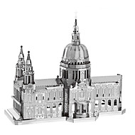 3D-puslespil Puslespil Metalpuslespil Modelbyggesæt GDS Berømt bygning Kirke Arkitektur 3D Børne Gave Kreativ Klassisk & Tidløs Chic &