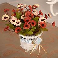 billige Kunstig Blomst-Kunstige blomster 1 Afdeling pastorale stil Tusindfryd Bordblomst