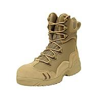 Bărbați Pantofi Piele Primăvară Vară Toamnă Iarnă Pantofi pe Gleznă Cizme de Combat Confortabili Cizme Plimbare Dantelă Pentru Casual