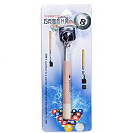 2 in 1 Pocket Chalk Holder Prep Stick Billiard Snooker Pool Cue Tip Pricker Tool