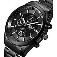 BOSCK Homens Relógio Militar Relógio Elegante Relógio de Moda Relógio de Pulso Quartzo Punk Noctilucente Luminoso Aço Inoxidável Banda