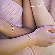 Gipke i čvrste narukvice - Boemski stil Film Nakit Ručno Izrađen beskraj Zlato Pink Narukvice Za Božićni pokloni Vjenčanje Party