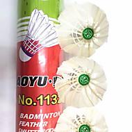 billiga Badminton-12st Badminton Badmintonbollar Slitsäker Hållbar Stabilitet för Duck Feather