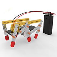צעצועיערכת עשה זאת בעצמך צעצוע חינוכי רובוט צעצועים מכונה רובוט ארכיטקטורה מצחיק הליכה עשה זאת בעצמך חתיכות