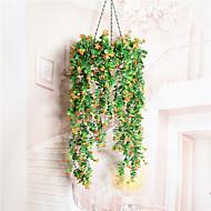 1 Branch Dried Flower Azalea Wall Flower Artificial Flowers Fresh Style