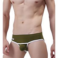 Homens Super Sexy Cuecas - Estampado, Sólido 1 Peça
