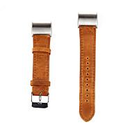 billiga Smart klocka Tillbehör-Klockarmband för Fitbit Charge 2 Fitbit Klassiskt spänne Läderloop Läder Handledsrem