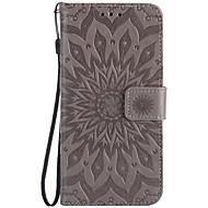 billiga Mobil cases & Skärmskydd-fodral Till LG K8 / LG / LG G5 Plånbok / Korthållare / Lucka Fodral Blomma Hårt PU läder för LG X Power / LG V20 / LG V10 / LG K10