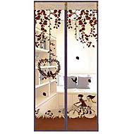 billige Lagring og oppbevaring-Mosquito Curtain Polyester med Trekk er Kryptering & Magnetic , Til Dør & Vindu
