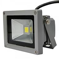 tanie Naświetlacze-HKV 10W Reflektory LED 3D Łatwa instalacja Wodoodporne Oświetlenie zwenętrzne Garaż Magazynek / pomieszczenie gospodarcze Ciepła biel