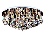 cheap Ceiling Lights-Traditional/Classic Modern/Contemporary Crystal Mini Style Flush Mount Ambient Light For Living Room Bedroom Dining Room Study Room/Office