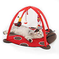 Игрушка для котов Игрушки для животных Интерактивный Плюшевые игрушки Складной Мультипликация Плюш Для домашних животных