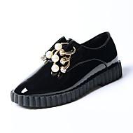 Dames Loafers & Slip-Ons Lente Zomer Lichtzolen PU Casual Zwart Fuchsia