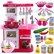 Doen alsof-spelletjes Toy Keuken Sets Toy Borden & Tea Sets Toy Foods Speeltjes Cirkelvormig Jongens Meisjes Stuks