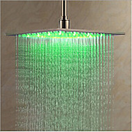 cheap Shower Heads-Contemporary Rain Shower Chrome Feature - LED, Shower Head